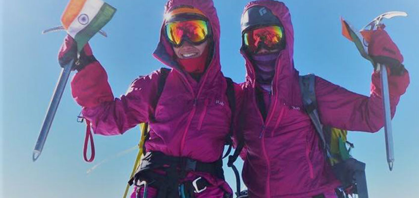 First siblings to reach the South Pole