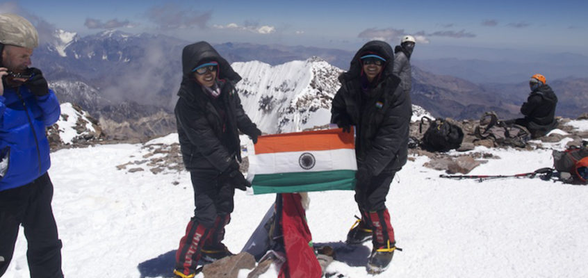 Youngest siblings to complete Explorers Grand Slam
