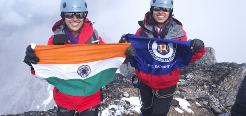 Youngest siblings to scale the Seven Summits
