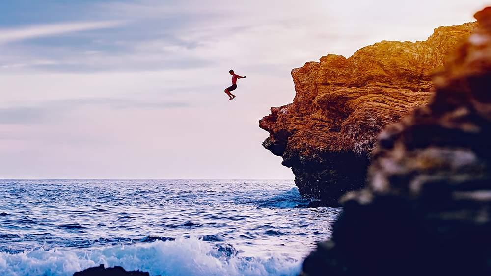 Highest cliff dive male indian adventure records - Highest cliff dive ...